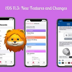 iOS 11.3 new features and changes