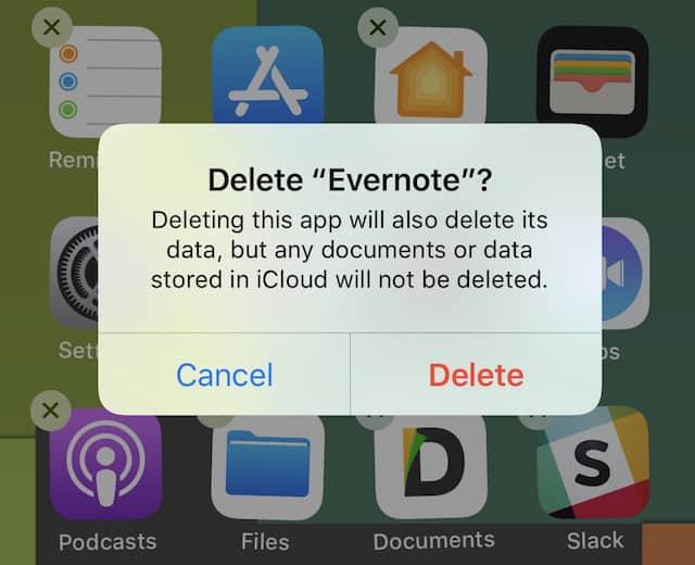 iPhone screen not working