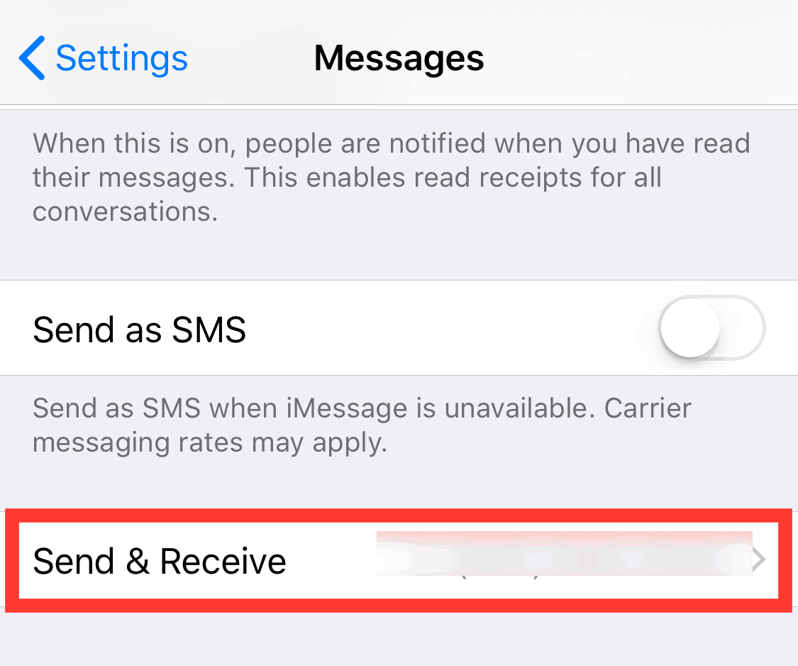 how to sign out of imessage on mac