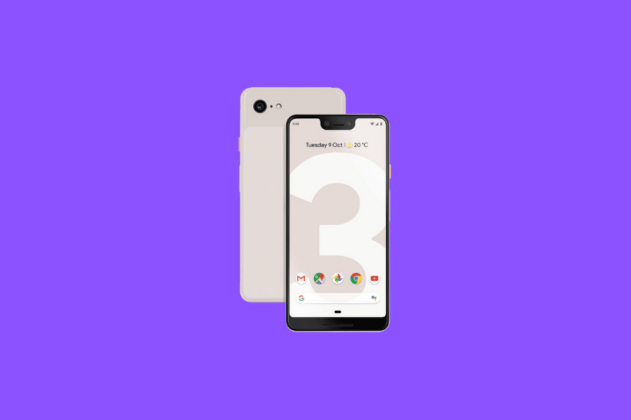 google pixel 3 xl notch