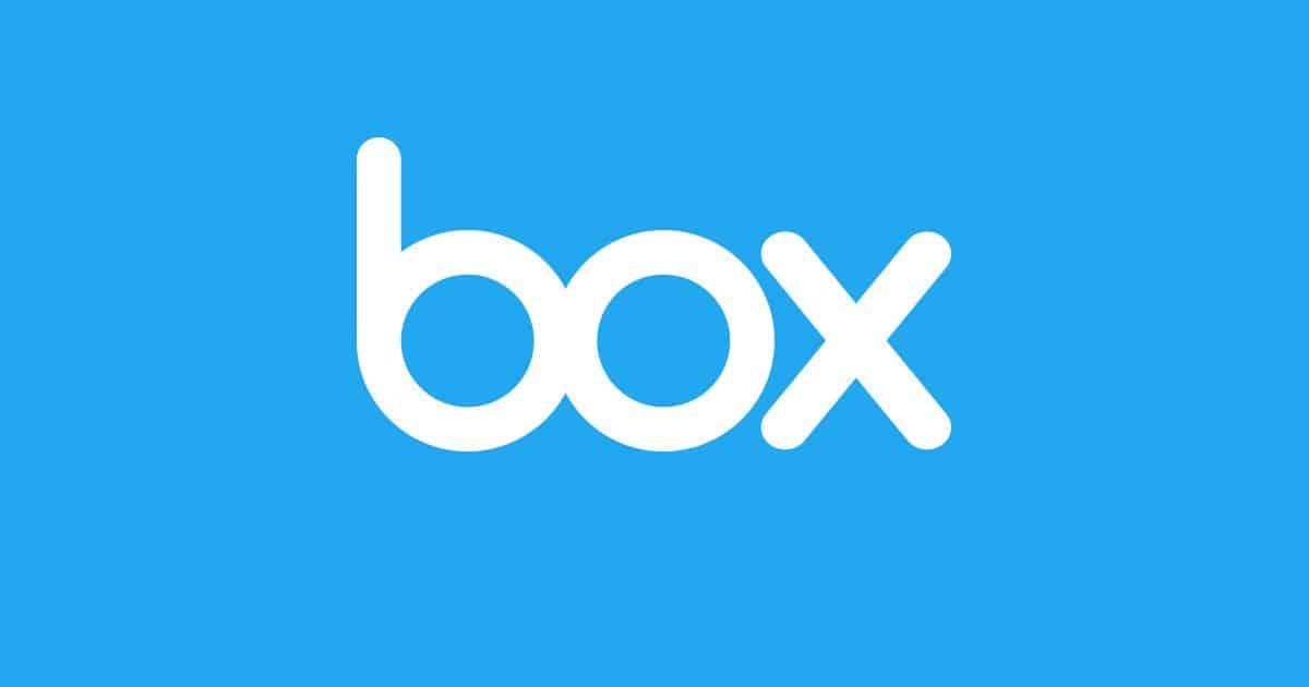 Box cloud storage service