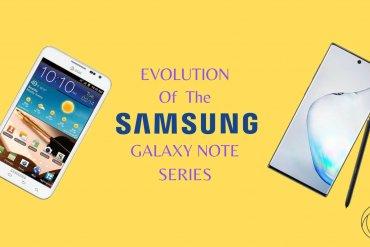 samsung galaxy note series