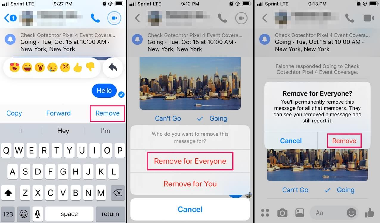 facebook messenger hacks
