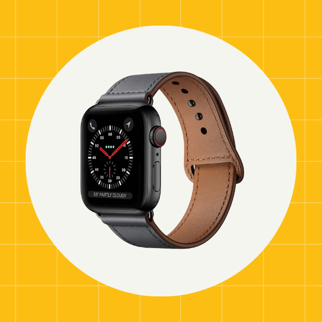 kyisgos leather apple watch strap
