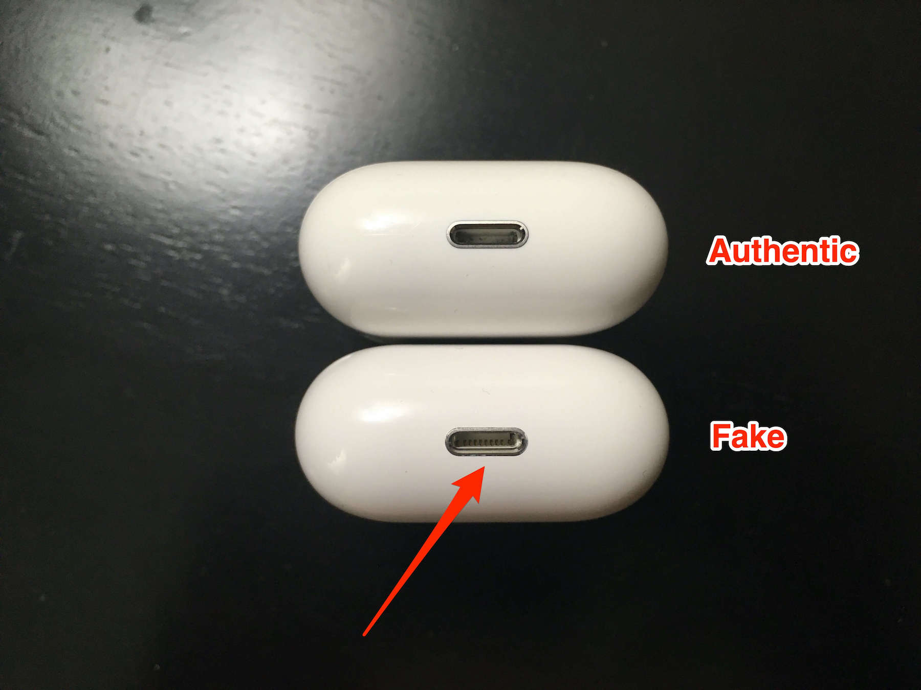 How To Spot Fake Airpods Real Vs Fake Gotechtor