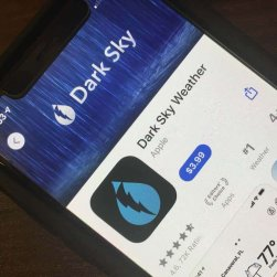 apple buys dark sky