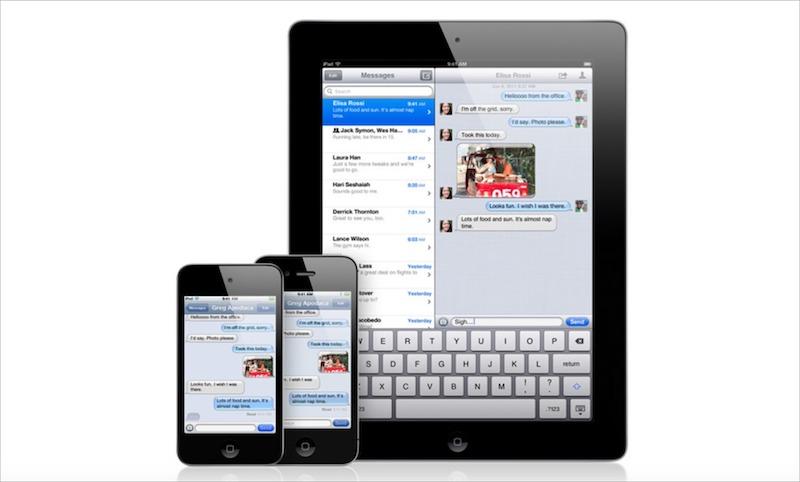 Screenshot of iOS 5