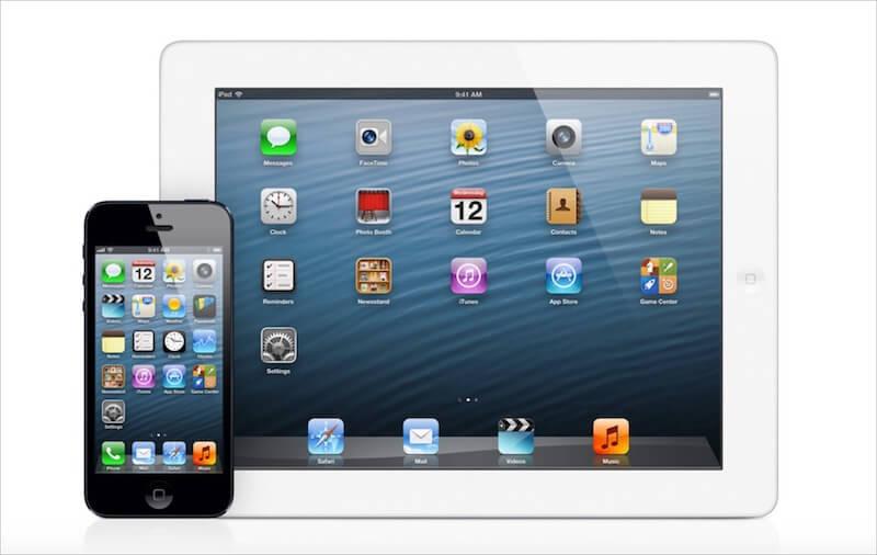 Screenshot of iOS 6