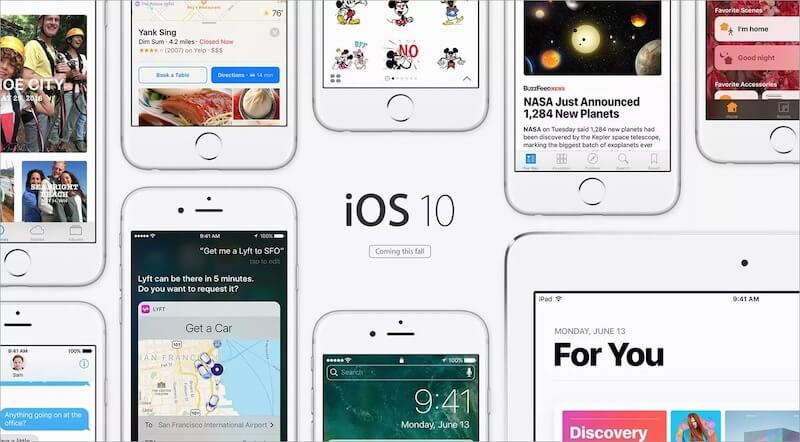 Promo material for iOS 10