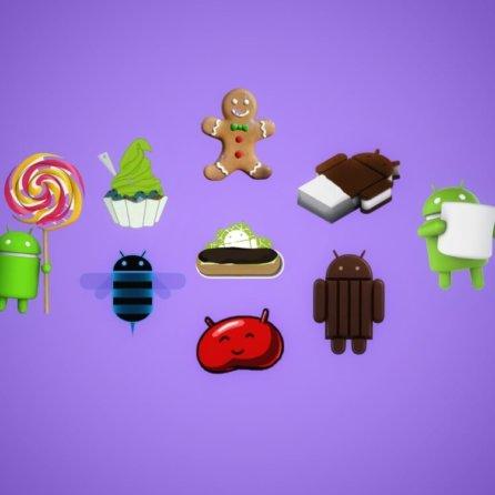 Visual History of Android