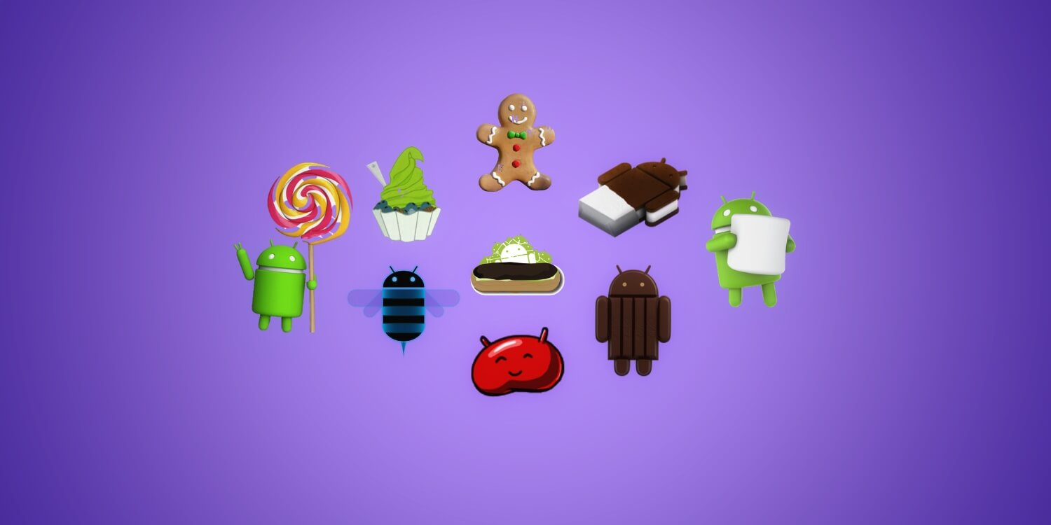 Visual History of Android