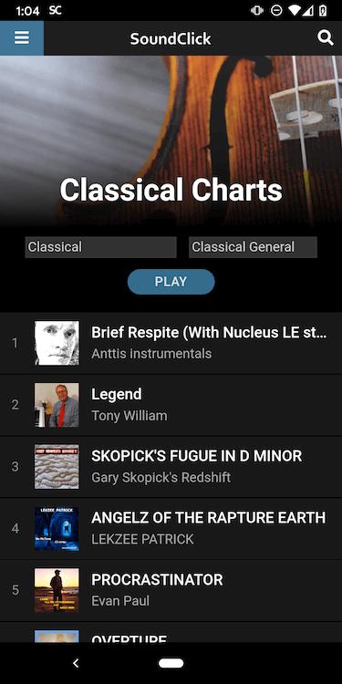 SoundClick Playlist