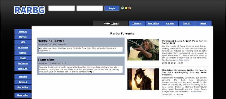 RARBG Torrents