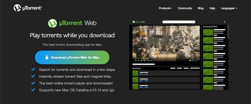 utorrent torrent client